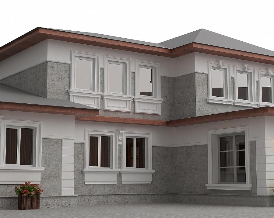 Строительство частного дома в д.Поповке